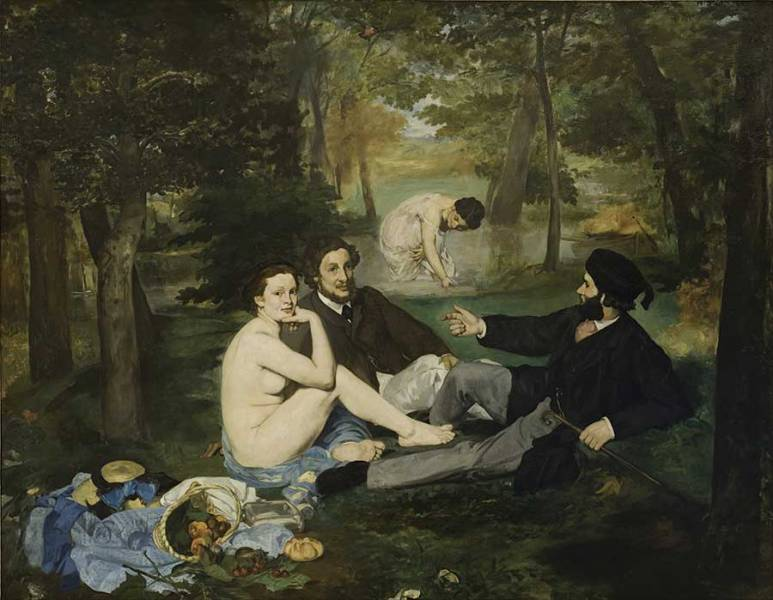 "Edouard Manet ""Luncheon on the Grass"""