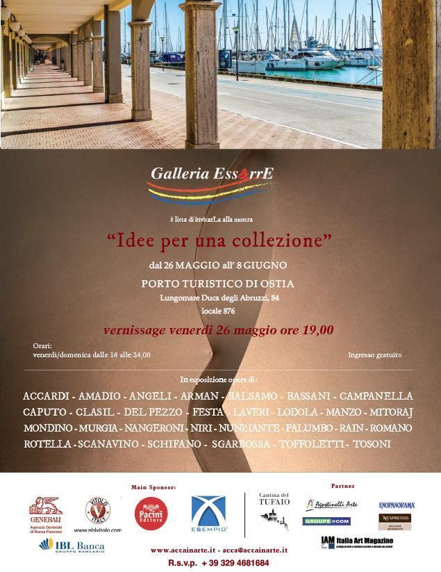 Invito Inaugurazione alla Galleria Ess&rre