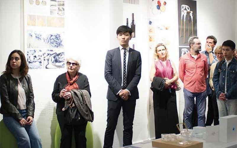 "Inaugurazione mostra ""Outside the Ivory Tower: creativity makes a better life"""